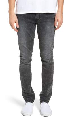Paige Transcend Croft Acid Wash Skinny Fit Jeans