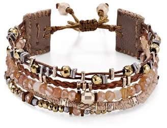 Chan Luu Layered Stone Bracelet