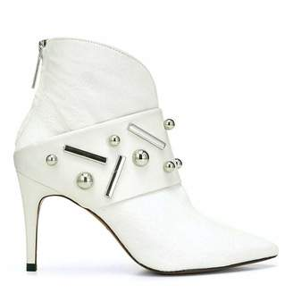 Donald J Pliner ROXI, Embellished Calf Leather and Haircalf Bootie