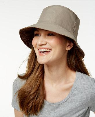 Nine West Reversible Rain Bucket Hat $38 thestylecure.com