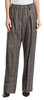 Brunello Cucinelli Wool Wide-Leg Pants