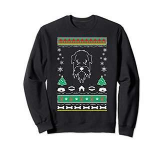 Soft Coated Wheaten Terrier ugly christmas gift sweatshirt