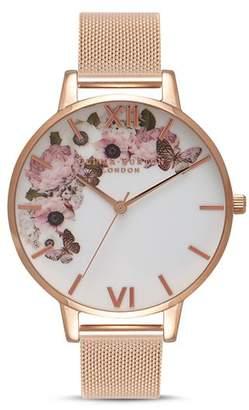 Olivia Burton Signature Florals Watch, 38mm