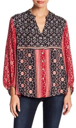 Somedays Lovin Some Days Lovin' Burn in Love Printed Blouse