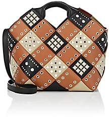 Loewe Women's Woven Basket Bag - Tan, Black