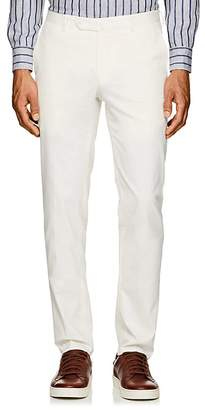 Incotex Men's S-Body Slim Cotton-Blend Trousers
