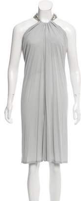 Alexander McQueen Sleeveless Embellished Dress