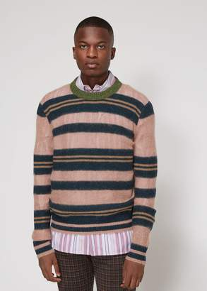 Marni Multistripe Crew Neck Sweater