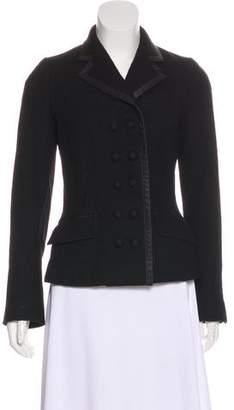 Louis Vuitton Wool Notch-Lapel Jacket