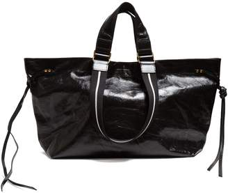 Isabel Marant Wardy patent-leather tote bag