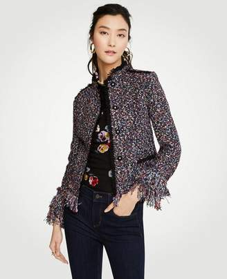Ann Taylor Petite Fiesta Tweed Jacket