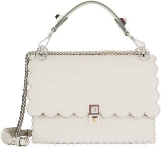 c15583bc510e Fendi Grey Italian Leather Bags For Women - ShopStyle Australia