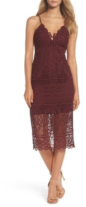 Women's Bardot Versailles Lace Pencil Dress $129 thestylecure.com