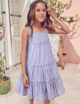 Boden Twirly Woven Dress