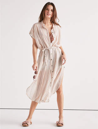 Lucky Brand STRIPED DUSTER