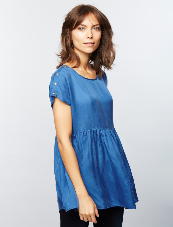 A Pea In The PodSeraphine Babydoll Nursing Top