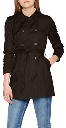 Only Women's Onllucy Long Trenchcoat Cc OTW Coat,(Manufacturer Size: X-)