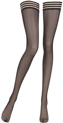 Tulle Stay-Up Thigh High Stockings $69 thestylecure.com