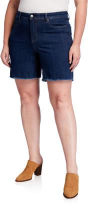 NYDJ Plus Size Shape Slim Straight Shorts