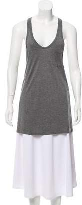 Alexander Wang Sleeveless Scoop Neck Tank
