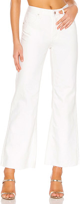 Free People High Rise Straight Flare.