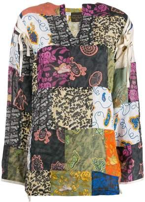 Loewe patch work blouse