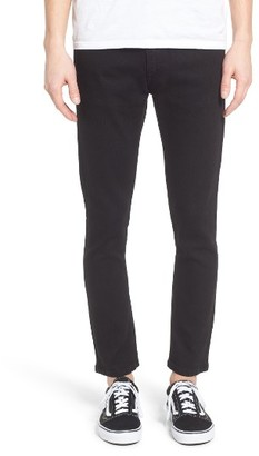 Men's Obey Juvee Ii Flooded Skinny Fit Jeans $69 thestylecure.com