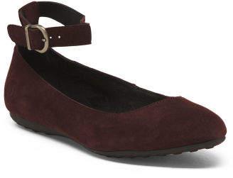 Comfort Suede Flats
