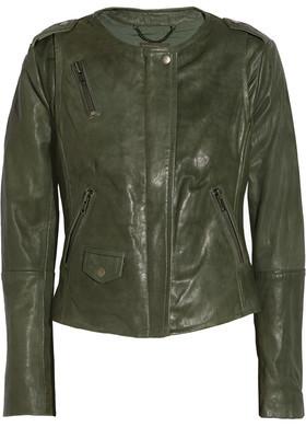 Muubaa Ramu Leather Jacket $575 thestylecure.com