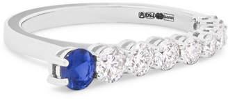 Melissa Kaye - Aria 18-karat White Gold, Diamond And Sapphire Ring
