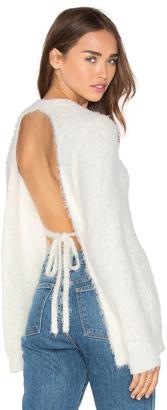 MAJORELLE Silver City Sweater $168 thestylecure.com