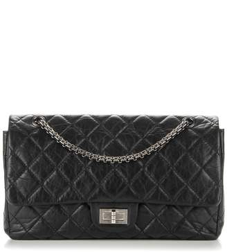 Chanel Reissue 2.55 Classic Double Flap Quilted 227 Black