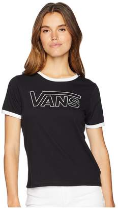 Vans Line V Ringer Women's Clothing