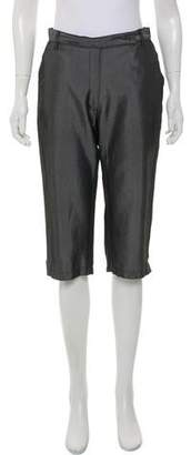 Fendi Mid-Rise Cropped Pants