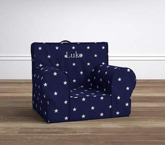 Pottery Barn Kids Navy Glow In The Dark Anywhere Chair® Slipcover Only