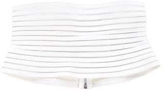 Jitrois Patent Leather Wide Belt