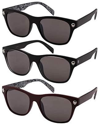 Edge-I-Wear Horned Rim Wayfarer Sunglasses
