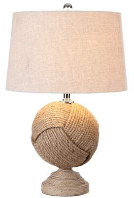 Bloomsbury Market Helsley Knotted Rope 24.5 Table Lamp