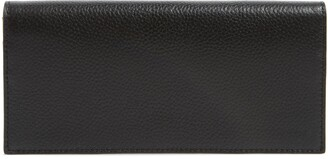 7ae9e47d42526b Leather Black Continental Wallet - ShopStyle
