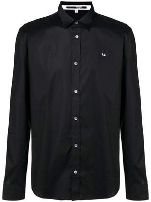 McQ swallow patch shirt