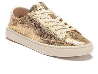Soludos Metallic Lace-Up Sneaker