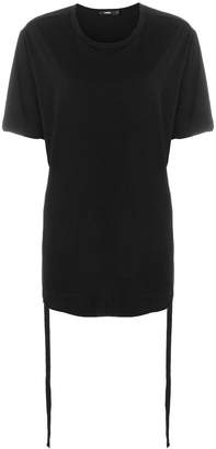 Bassike ruched side T-shirt