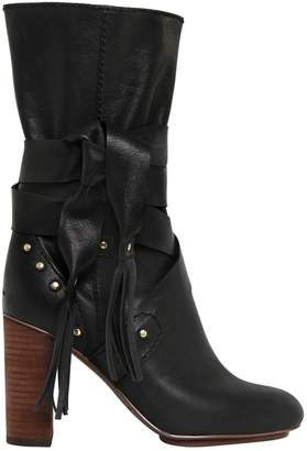 See by Chloe 90mm Leather Boots
