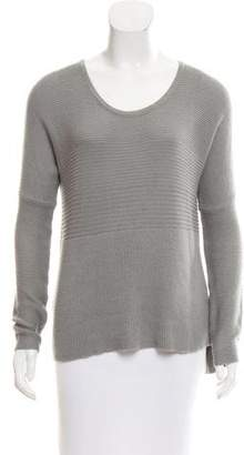 Helmut Lang Scoop-Neck Long Sleeve Sweater