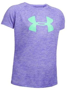 Under Armour Girl's Athletic Logo Tee