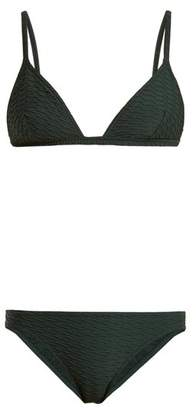 Eres Reporter And Chronique Triangle Bikini - Womens - Dark Green