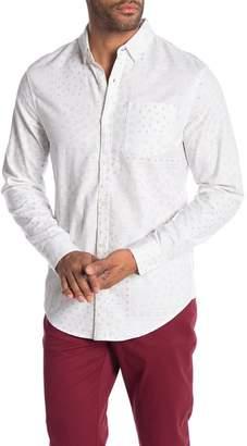 Original Penguin Paisley Long Sleeve Heritage Fit Shirt