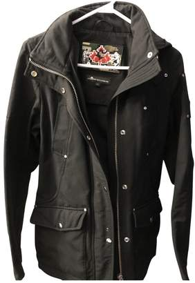 Moose Knuckles Black Exotic leathers Coat for Women