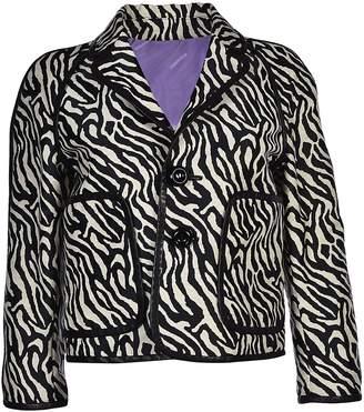 DSQUARED2 Zebra Print Jacket