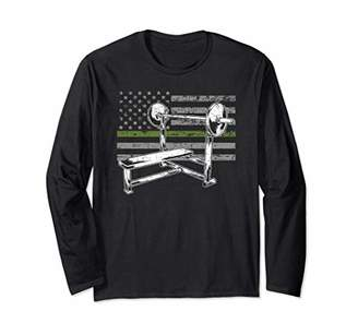 Military Bench Press Long Sleeve T-Shirt Gift
